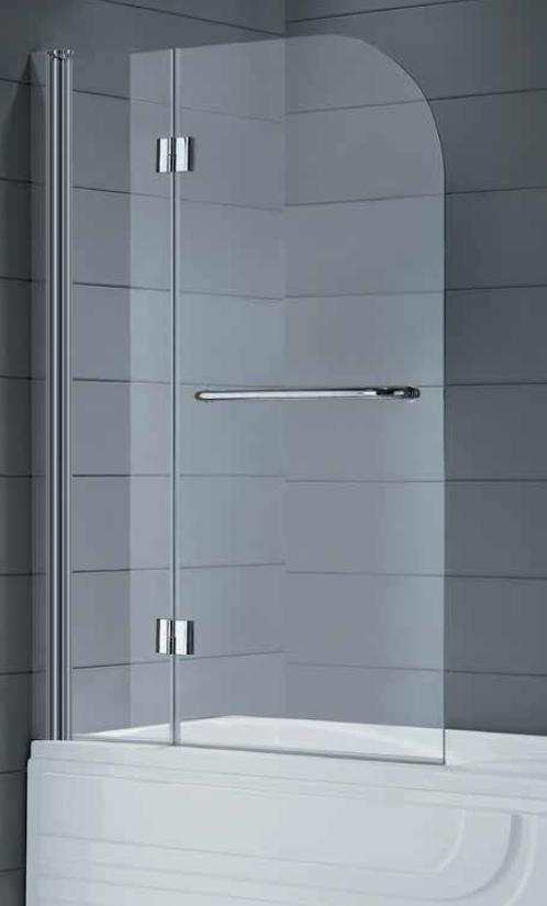 Dos hojas plegables para ba era con tirador toallero glass - Baneras plegables para duchas ...