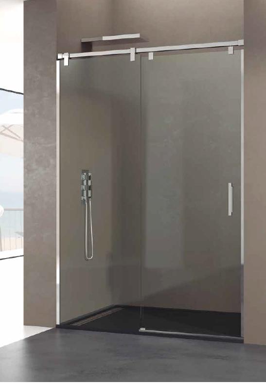 Mampara fijo corredera acero inox con tratamiento - Ideas para mamparas de ducha ...