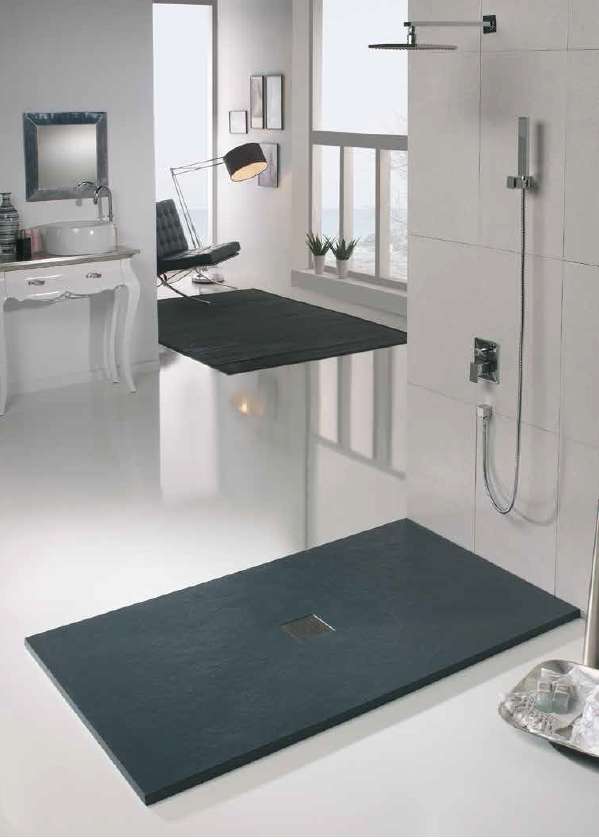 Limpiar plato de ducha de resina free simple top plato de ducha resina colores todas las - Como limpiar el plato de ducha ...